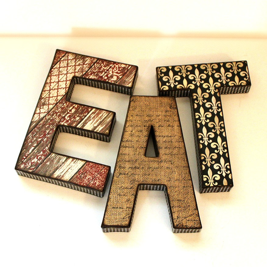 EAT Letters Custom Names Words On Luulla